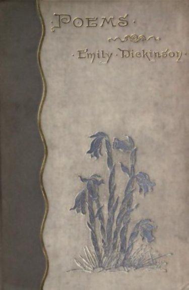 """Coberta de la primera edició de """"Poems"""", publicada el 1890"""
