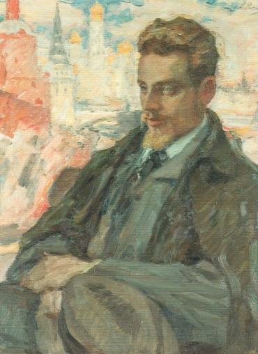 Rilke in Moscow by L. Pasternak (1928)