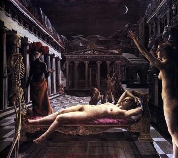 La Vénus Endormie - The Sleeping Venus (1944, huile sur toile)