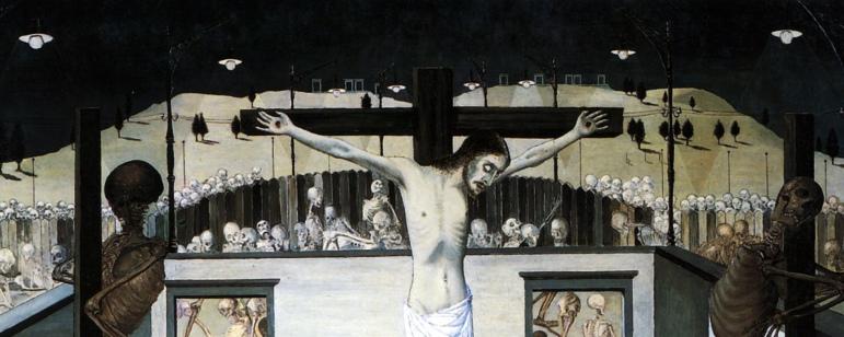 Crucifixion III (Detall 1 sup)
