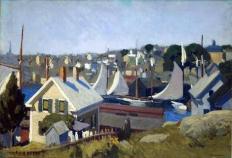 Gloucester Harbour (1912 - oil on canvas, 66 x 71.1 cm)
