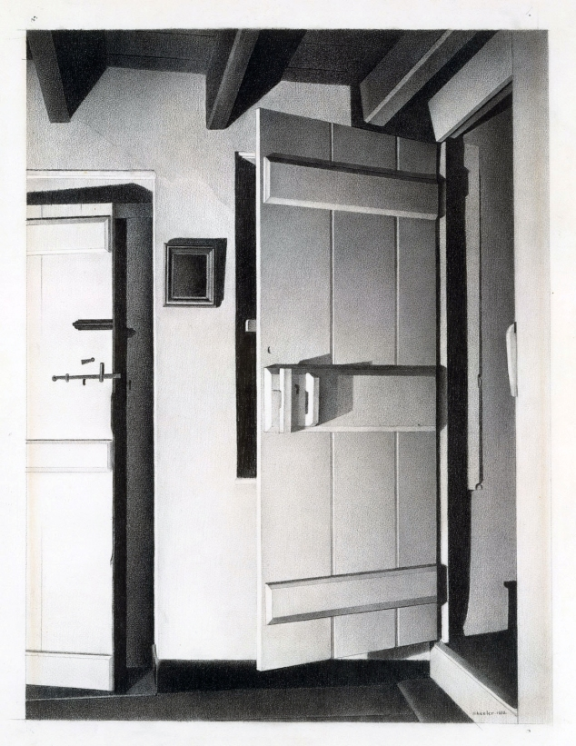 open-door-adj-1932-black-conte-crayon-19-x-14-inches