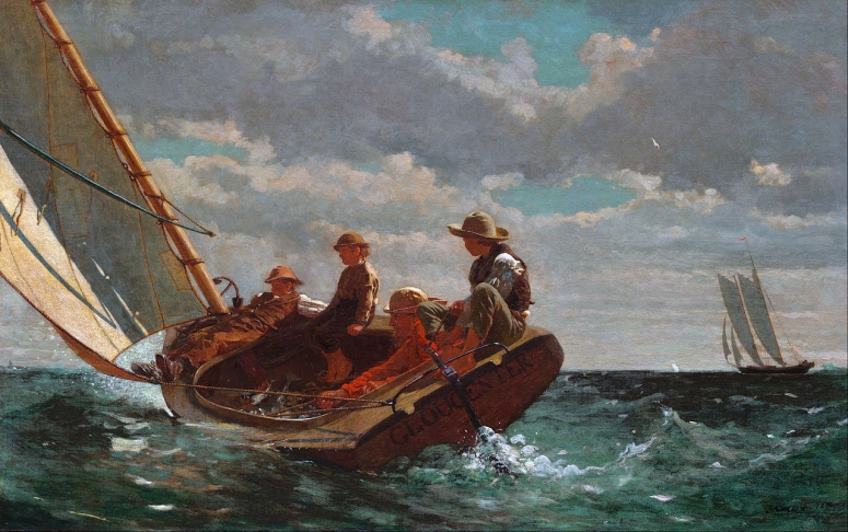 Homer - Breezing up (A Fair Wind) - 1873-76