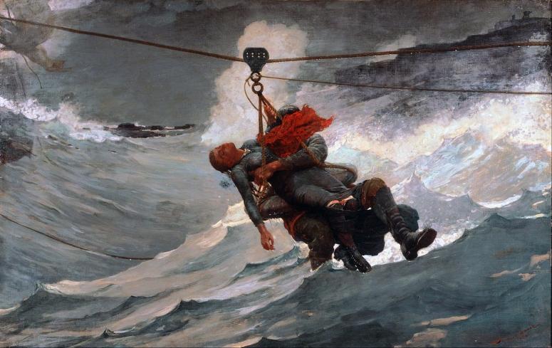 The Life Line -1884 - W. Homer (adj)