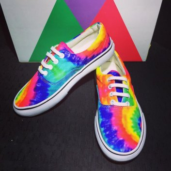 Colourful vans