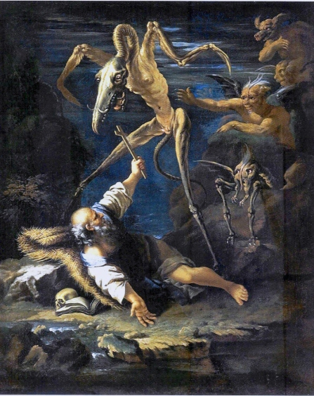 Salvator Rosa - La Tentazione di Sant'Antonio (1645, oil on canvas)