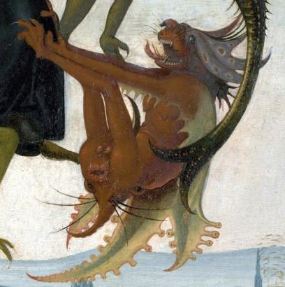 Michelangelo - (Il Tormento di Sant'Antonio - detail)