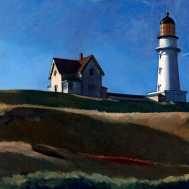 Lighthouse Hill (1927 - oil on canvas, 73.8 x 102.2 cm)