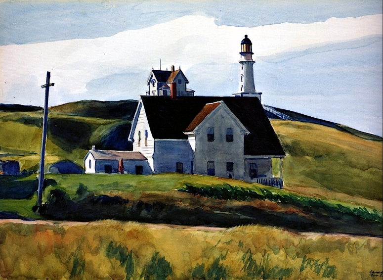 2-Hill_and_Houses__Cape_Elizabeth__Maine, 1927 (adj)