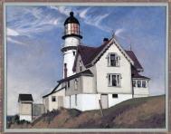 Captain Upton's House (1935 - oil on canvas, 71.1 x 91.4 cm)