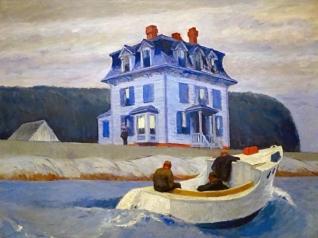 The Bootleggers (1925 - oil on canvas, 76.5 x 96.5 cm)