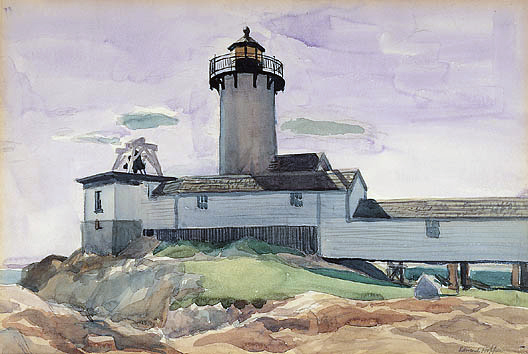 Ed Hopper Eastern Point Light