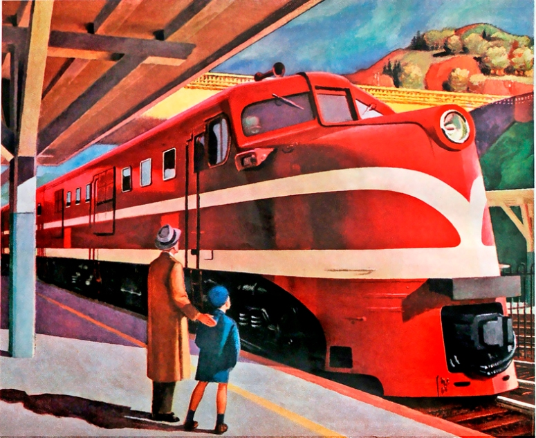 Am Locomotive, 1944