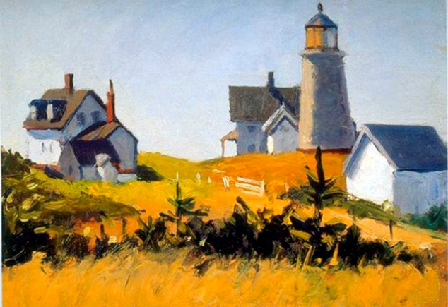 Monhegan Lighthouse, 1916-19 adj amp