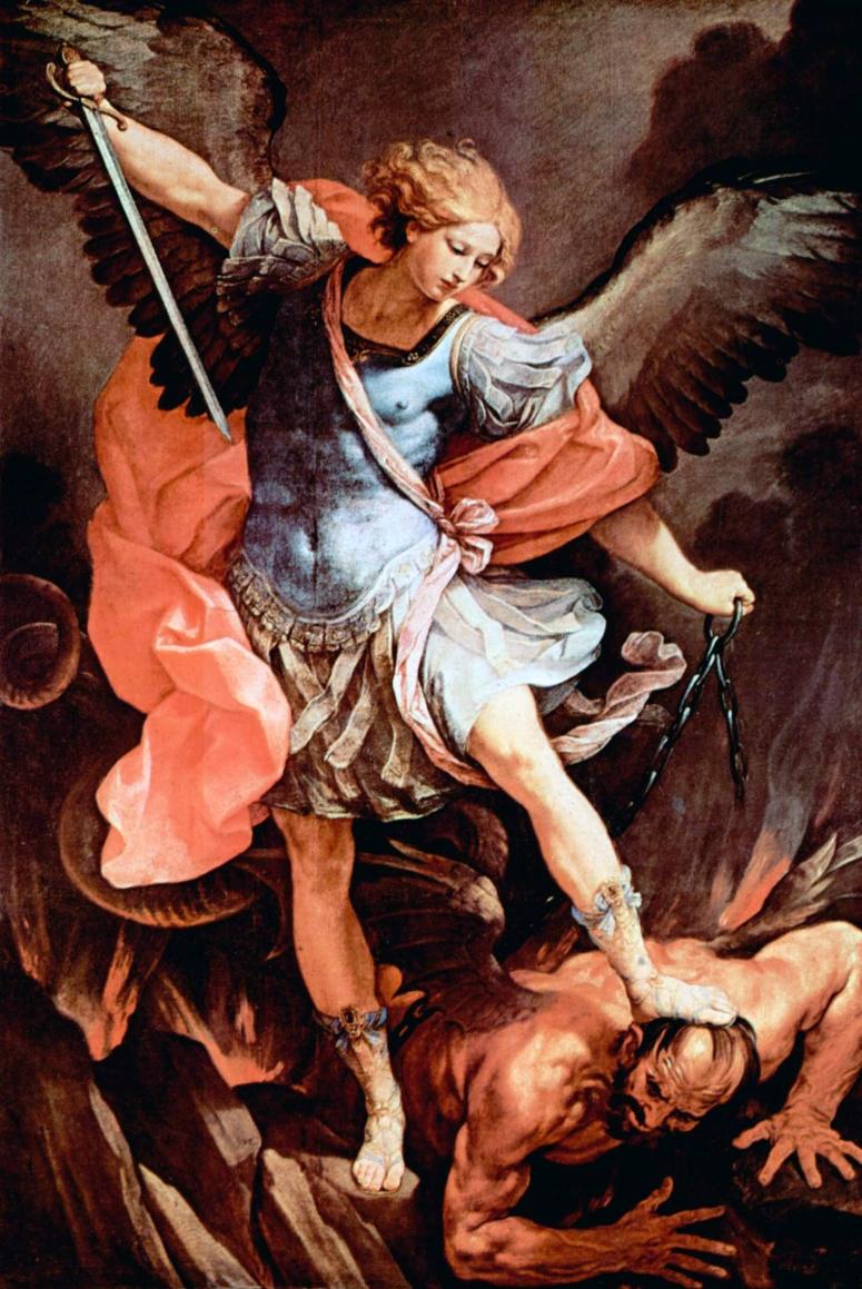 Guido Reni - Arch. Michael + Satan (2)