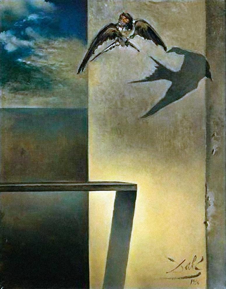 Dalí - L_Oreneta_Immòbil_1956_(46_x_36_cm) adj +g