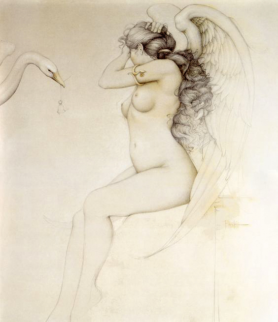 Hour of the Gods_1990_oil and pencil adj1