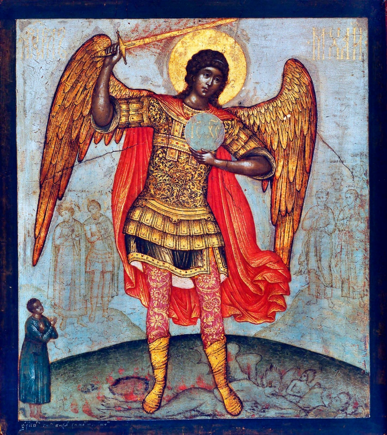 Simon Ushakov_Archangel_Mikhail_and_Devil adj