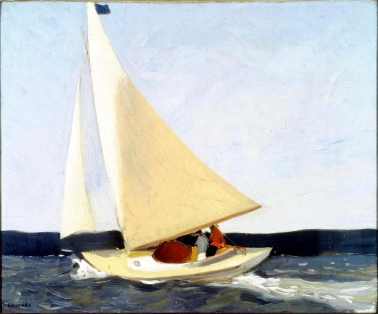 Sailing, 1911; oil on canvas; Carnegie Museum of Art (adj2)