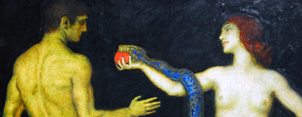 Franz von Stuck (I) – A powerful view on the myth of Genesis