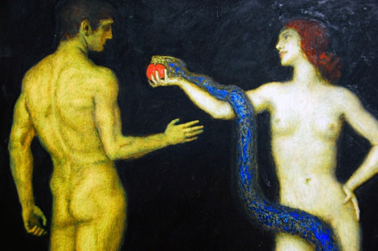 Franz-Von-Stuck Adam and Eve adj3