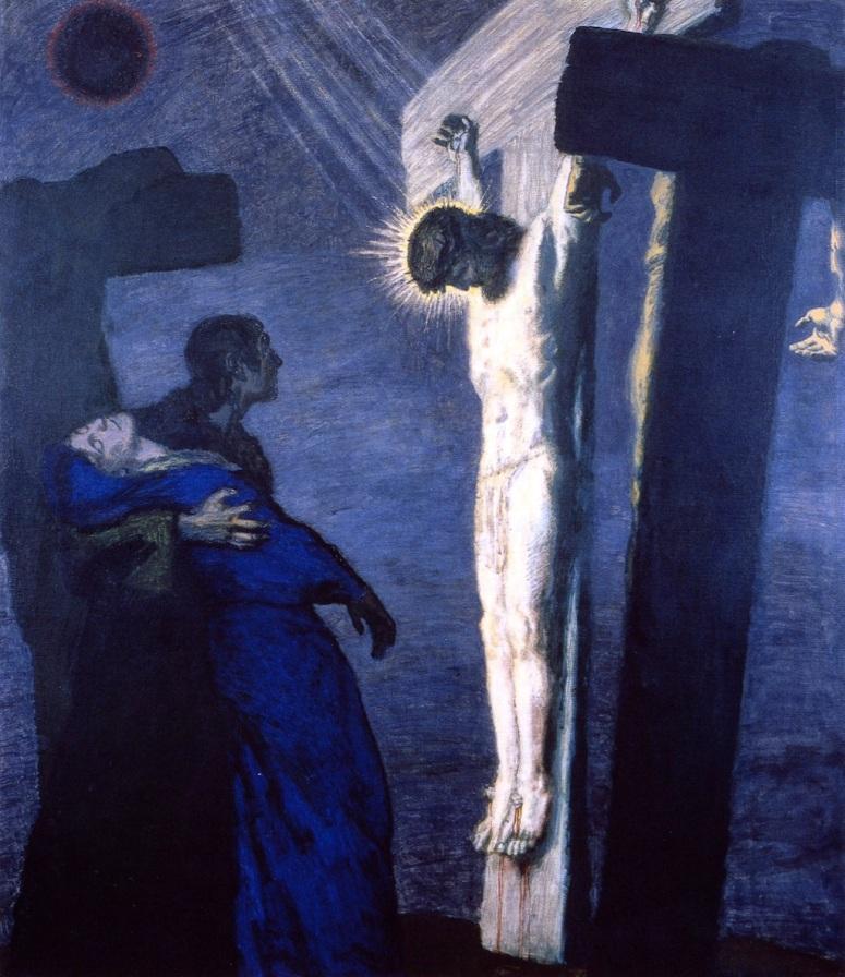 Franz Von Stuck - Crucifixion2 (2)