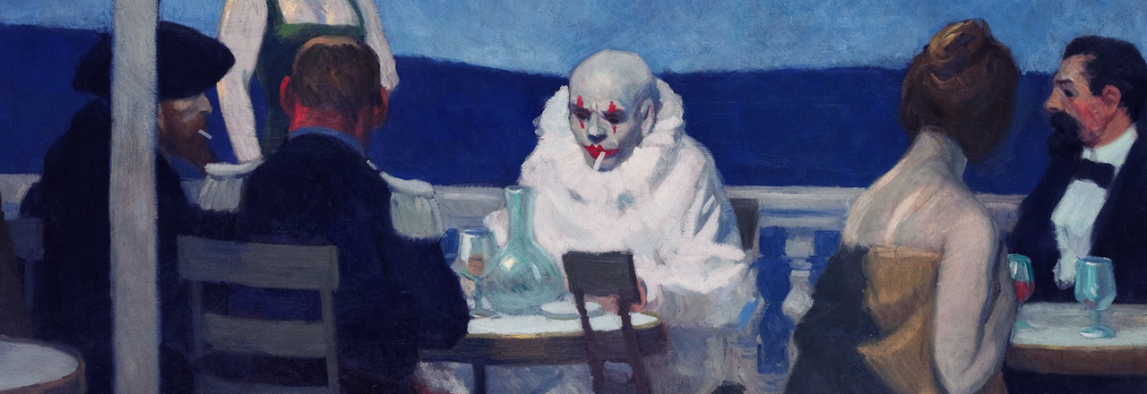 Edward Hopper (XIV) – An early and quite queer masterwork: Soir Bleu