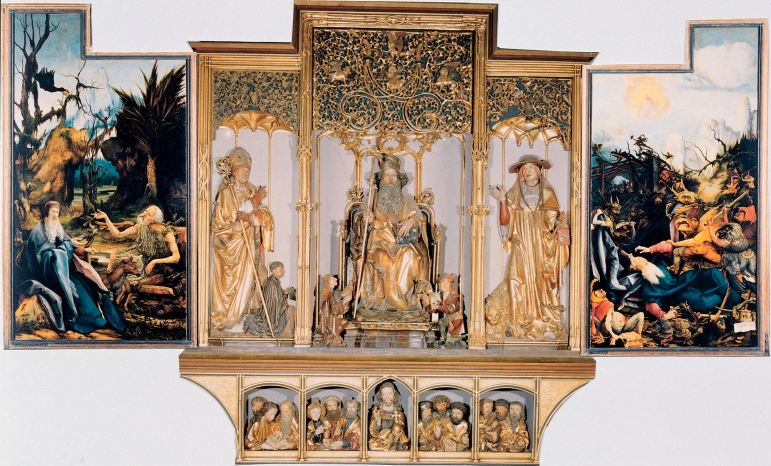 Isenheim Altarpiece - Complete 3rd display