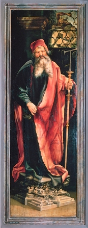 Isenheim Altarpiece - 1st display, panel 3