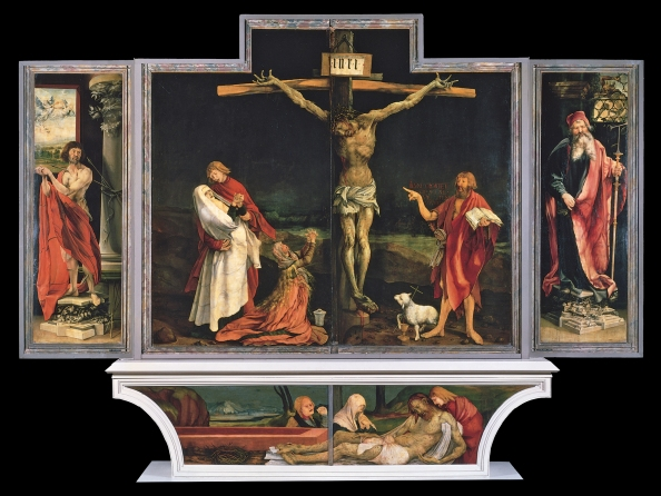 Isenheim Altarpiece - 1st display