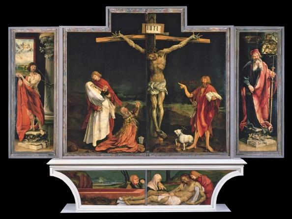 Isenheim Altarpiece - 1st display