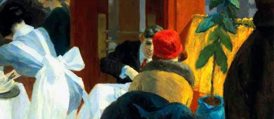 Edward Hopper (XV) – Changing moods from one restaurant to another (1922-30)