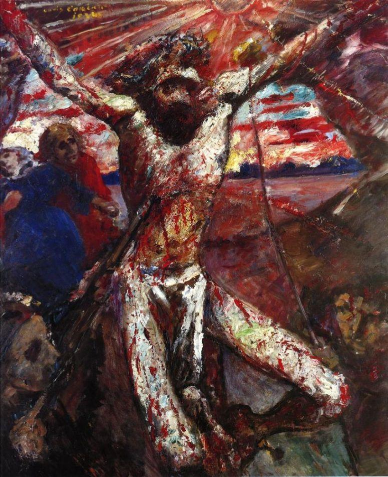 L. Corinth_Red Christ_1922