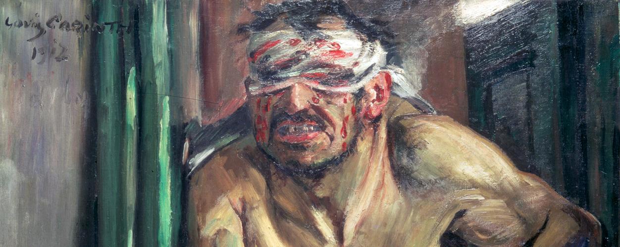 Lovis Corinth – Three Works on Cruelty and Suffering – Samson, Cain, Christ
